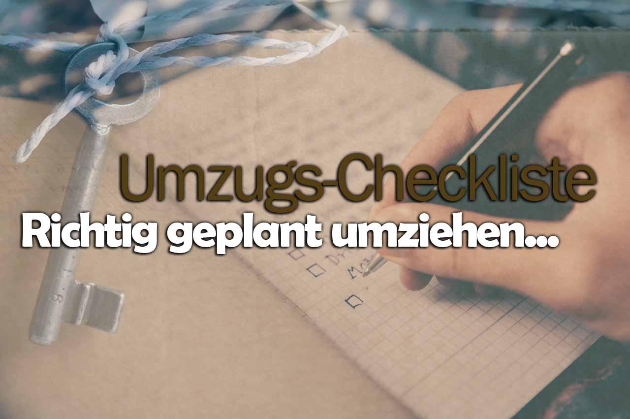 Umzugscheckliste (DE/EU/CH) - checklisteo