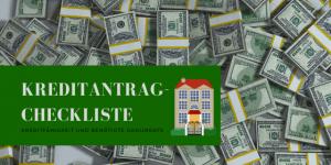 Kreditantrag Checkliste